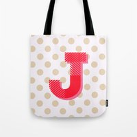 J is for Joy Tote Bag