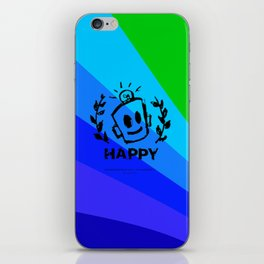International Day of HAPPINESS iPhone Skin
