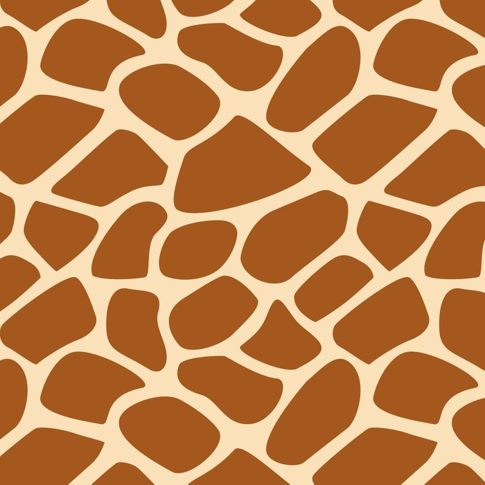 Giraffe Animal Print Pattern Leggings