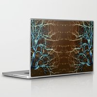 batik Laptop & iPad Skins featuring Batik Tree by Deb MacNeil