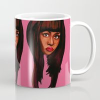 nicki Mugs featuring Watch the queen conquer by Papa-Paparazzi