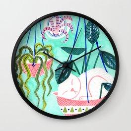 Hanging Gardens Wall Clock