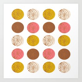 Conchas Art Print