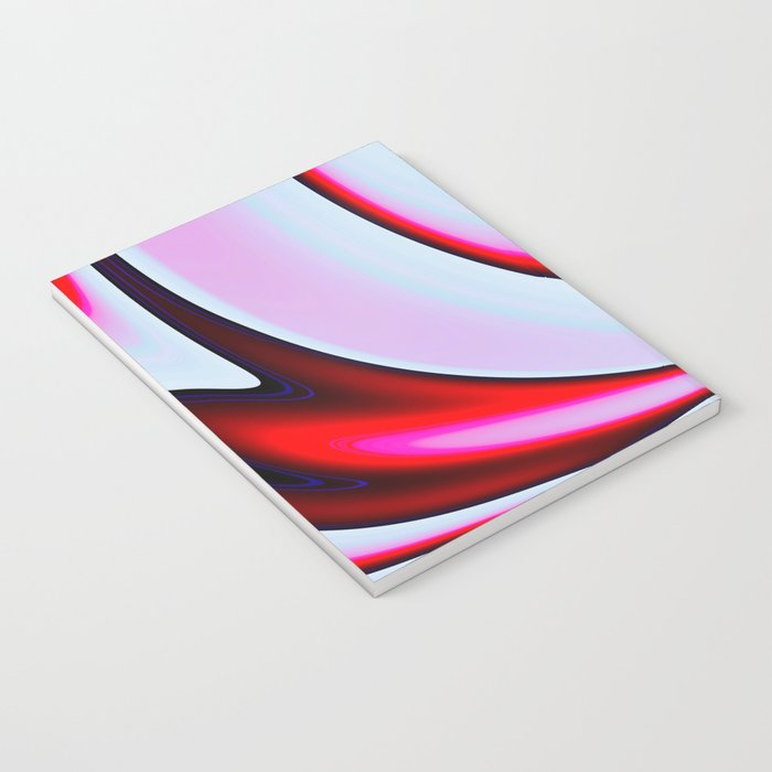 Abstract Fractal Colorways 02BPk Notebook