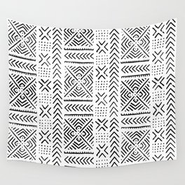Line Mud Cloth Wall Tapestry