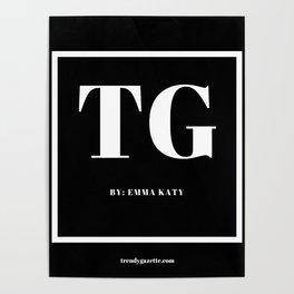 Trendy Gazette Poster
