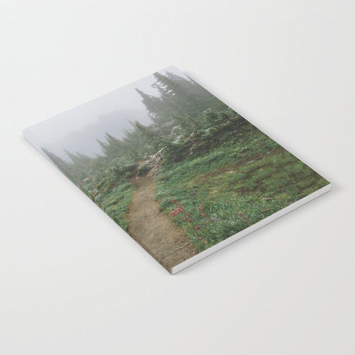 Washington Wildflower Fog Notebook