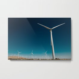 In the winds Metal Print