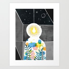 Where Does The Light Go? - from Velocity of Being Art Print