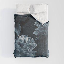 Blue Peonies Comforters