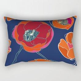 California Poppies Rectangular Pillow