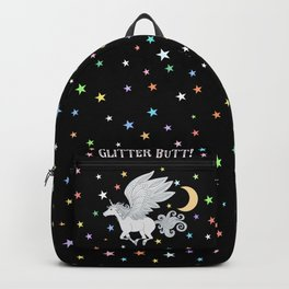 Glitter Butt! Backpack