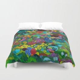 Flower Forest Duvet Cover