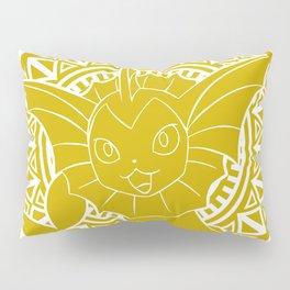 Stained Glass - Pokémon - Vaporeon Pillow Sham
