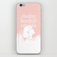 She's Thunderstorms iPhone & iPod Skin