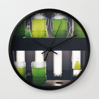 titan Wall Clocks featuring Titan by xoxo