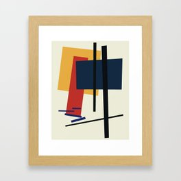 Tribute to K. Malevich (n.1) Framed Art Print