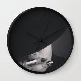 Black Silence Wall Clock
