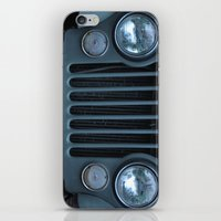 jeep iPhone & iPod Skins featuring Jeep by Rosa Maun