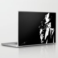 noir Laptop & iPad Skins featuring Noir by Solano