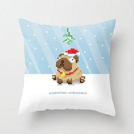 Christmas Intensifies Throw Pillow