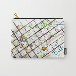 Downtown Billings Brewery Map Carry-All Pouch