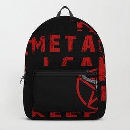 Metalhead Keep Calm Backpack