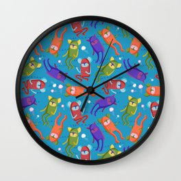 Shamans in the Sea Wall Clock