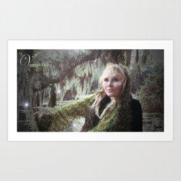 """VAMPLIFIED """"Willow Wisp"""" Art Print"""