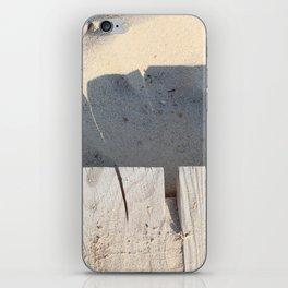board walk / closeup iPhone Skin