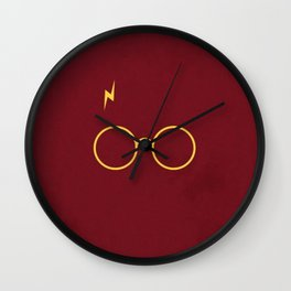 Harry Glasses Wall Clock