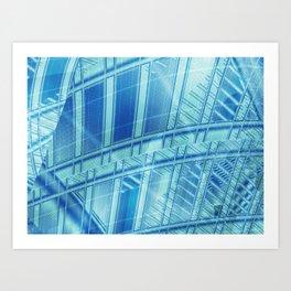 Deep Sea Windows Art Print
