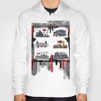 cities Hoodies featuring Cities 2 by sladja