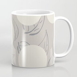 Polka dot flower Coffee Mug