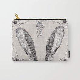 Summer Swallow Carry-All Pouch