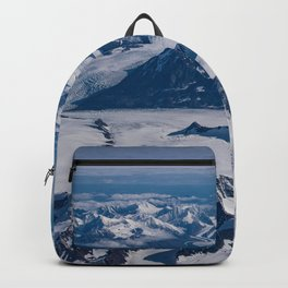 Aerial Glacier Four - Alaska Backpack