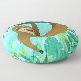 Cute Sloth Floor Pillow