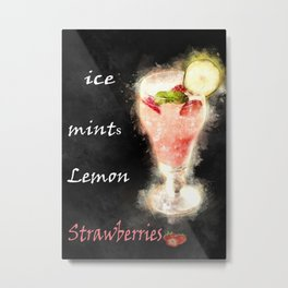 fresh juice Metal Print