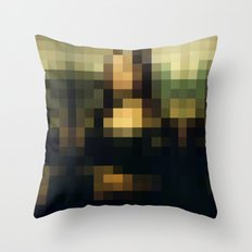 Buy pixels don't buy art Throw Pillow
