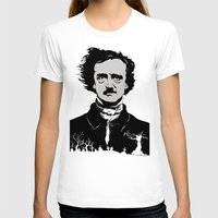 edgar allen poe T-shirts featuring POE by Eric Thorpe-Moscon Designs