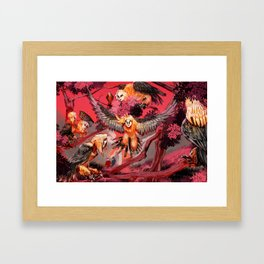 Harpies Framed Art Print