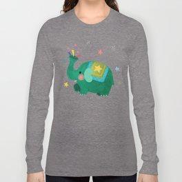 circus elephant Long Sleeve T-shirt