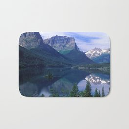 Montana Mountains Bath Mat