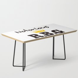 Notorious R.B.G Coffee Table