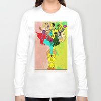 chakra Long Sleeve T-shirts featuring Chakra by Omnii