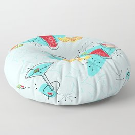 Cabo Cocktails Floor Pillow