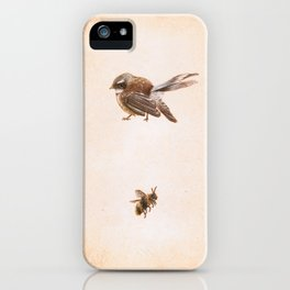 The Bird and the Bee iPhone Case