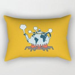 Teapot World Rectangular Pillow