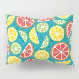 Vitamin C Super Boost - Citric Fruits on Petroleum Pillow Sham
