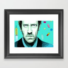 hallucinogenic House Framed Art Print
